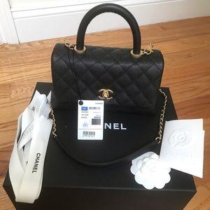 6bd1bc9f824aef Women's Black Chanel Bag Price on Poshmark